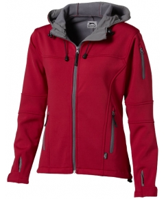 Match softshell damesjack bedrukken
