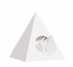 Piramide tissue box bedrukken