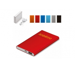 Powerbank Slim 4000mAh bedrukken