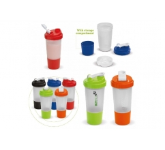 Shaker compartiment 500ml bedrukken